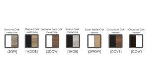 Epic Range Component Colours