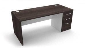 Endurio Pedestal Desk