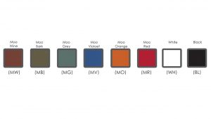 Interactive Cubicles Ver.3 and .4 Colour Options