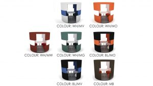Cubical Ver.1 Colour options