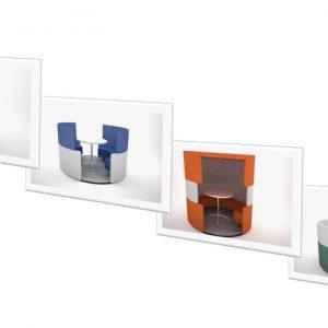 Interactive Cubicle Range